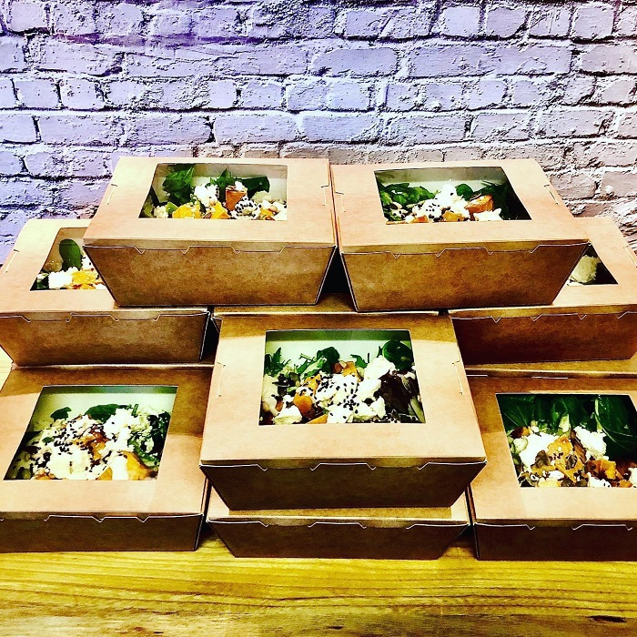 Salad lunch packs